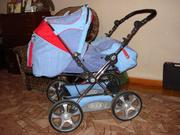 Продам детскую коляску трансформер 3 в 1 SECA