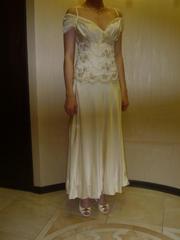 Продам выпускное платье (шёлк)