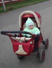 Продаётся  большая детская коляска