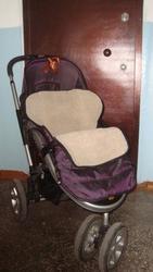 СРОЧНО продам 3колесную коляску зима-лето фирмы Geoby