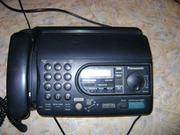 Продам телефон-факс Panasonic kx-ft37